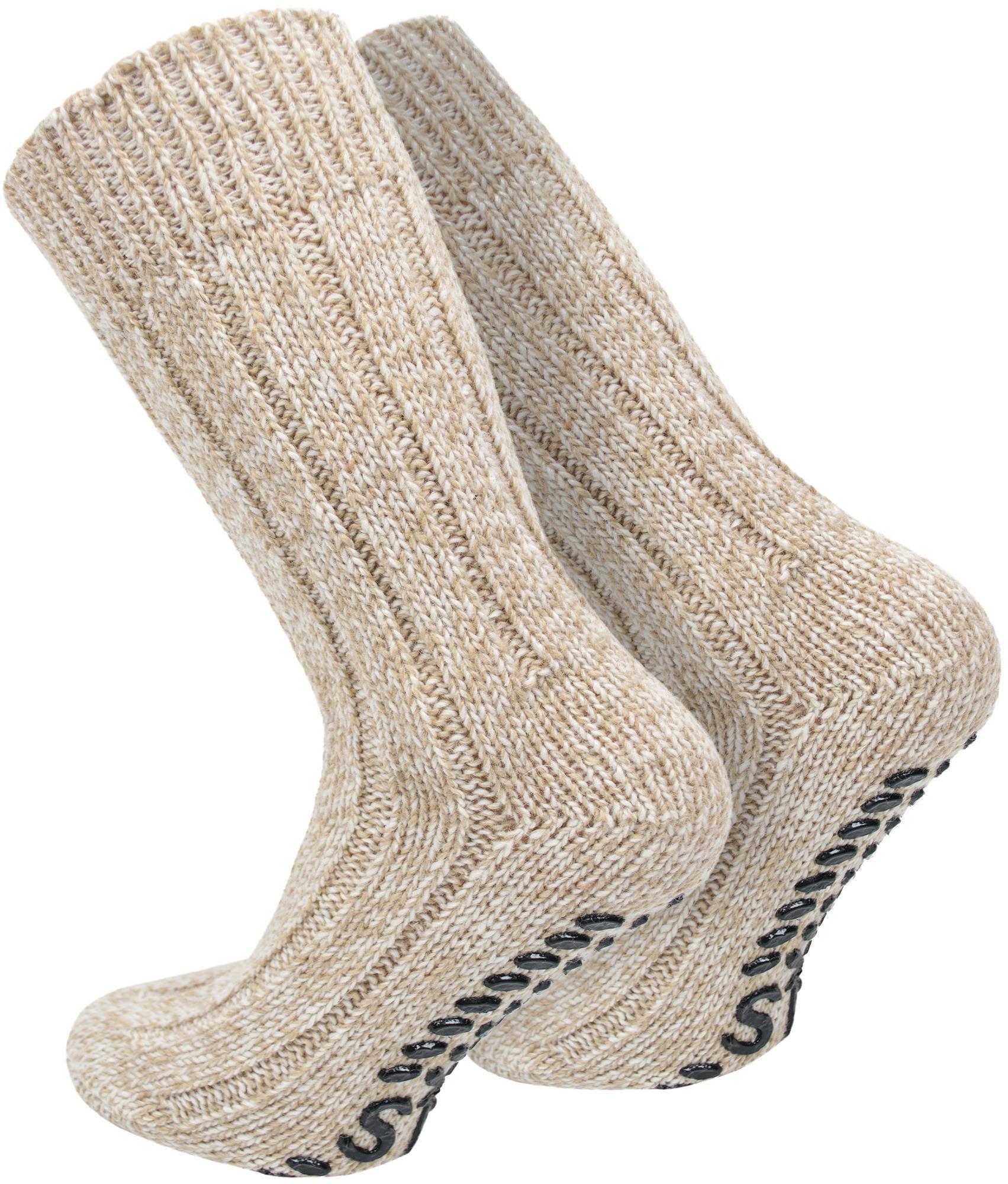2 paire Normani ® norvégiens-Abs-Chaussettes Avec Laine d/'Chaussettes Homesocks