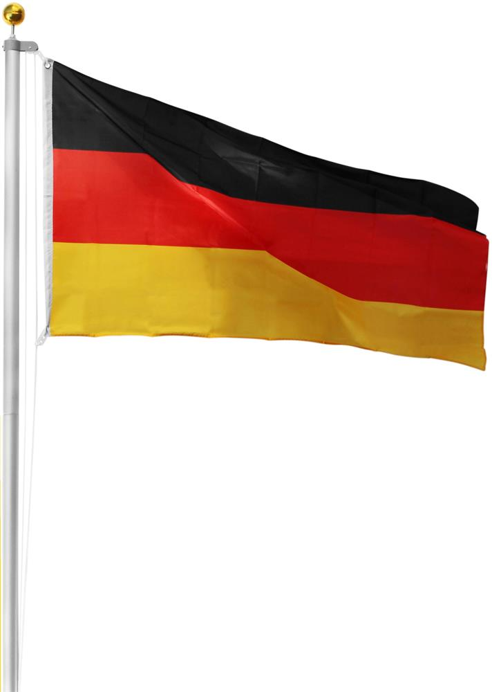 Bayern-Fahne LEX Fahnenmast 620 cm inkl