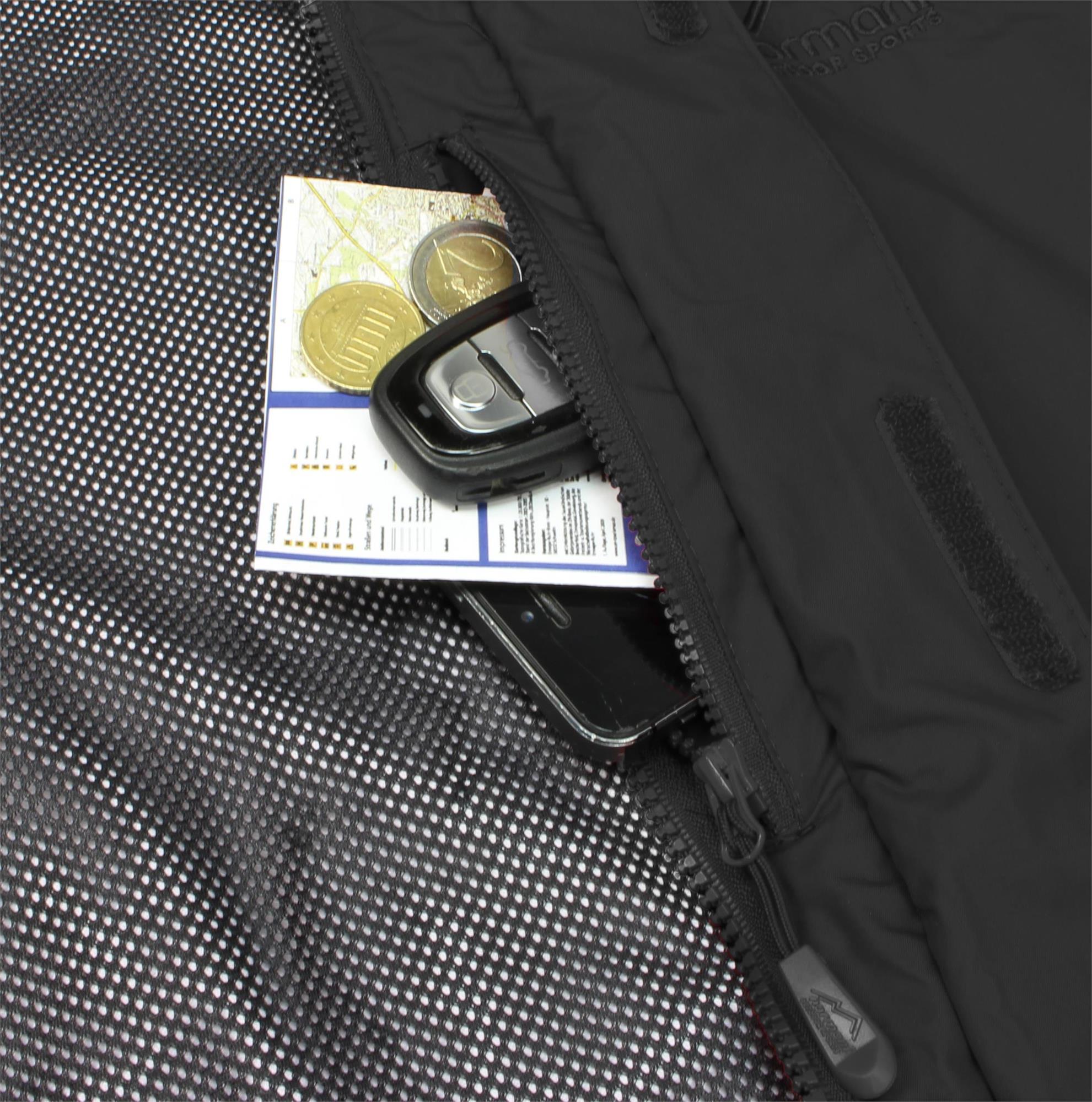 Indexbild 10 - Damen-Jacke Hardshelljacke Übergangs-Regenjacke mit Kapuze Wassersäule 10.000mm