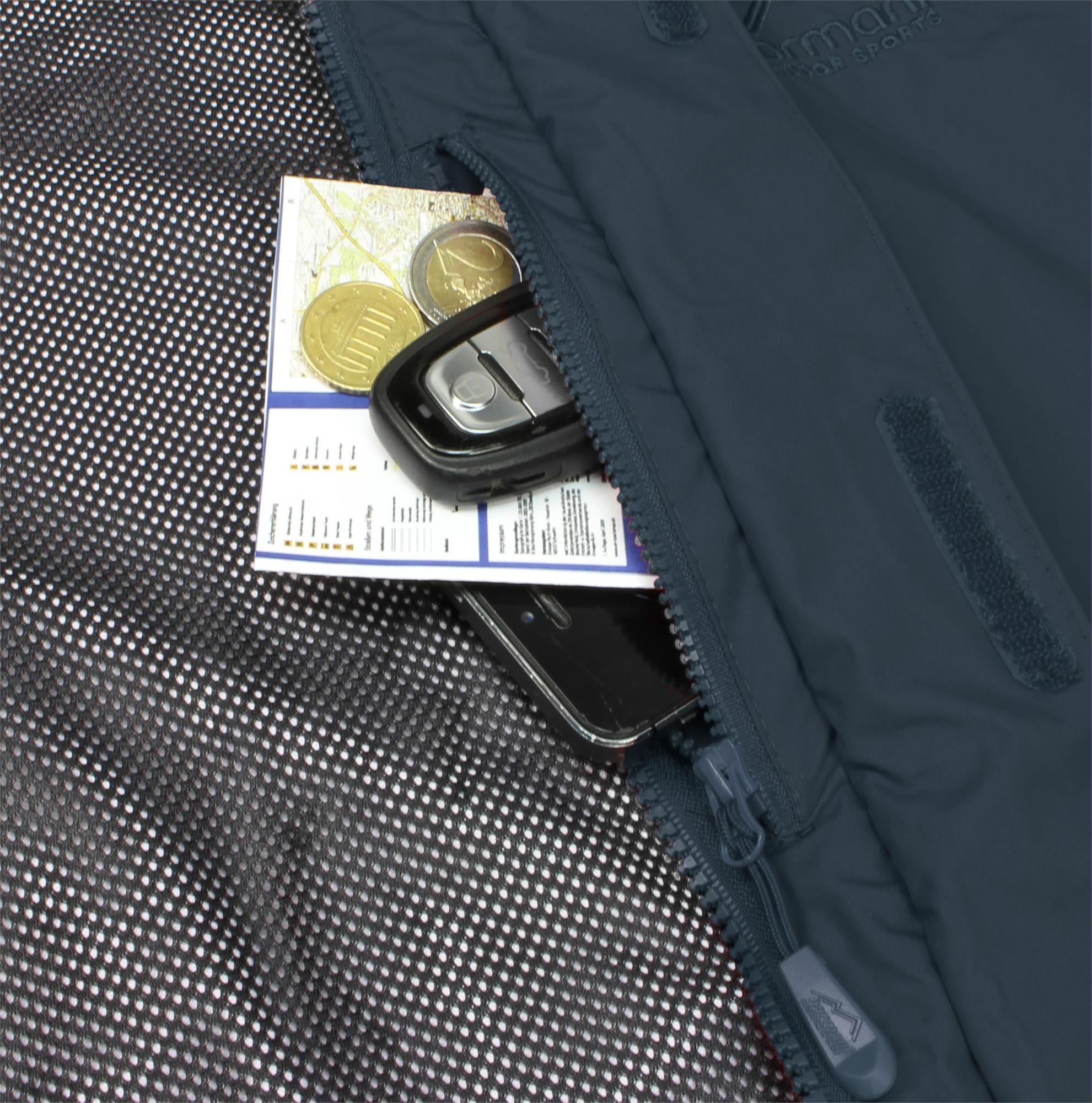 Indexbild 25 - Damen-Jacke Hardshelljacke Übergangs-Regenjacke mit Kapuze Wassersäule 10.000mm