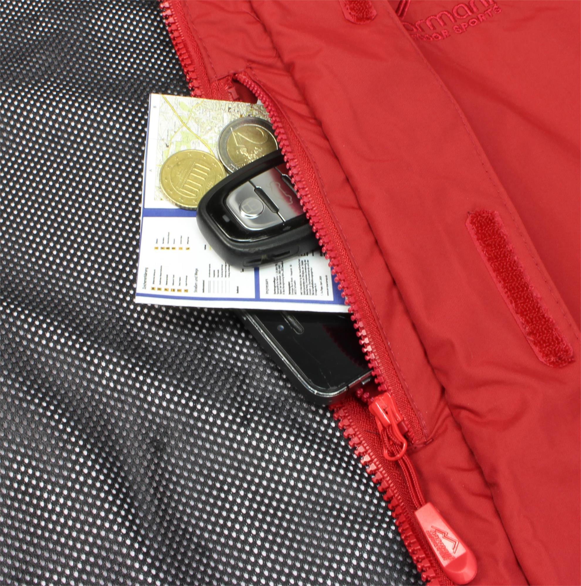 Indexbild 20 - Damen-Jacke Hardshelljacke Übergangs-Regenjacke mit Kapuze Wassersäule 10.000mm
