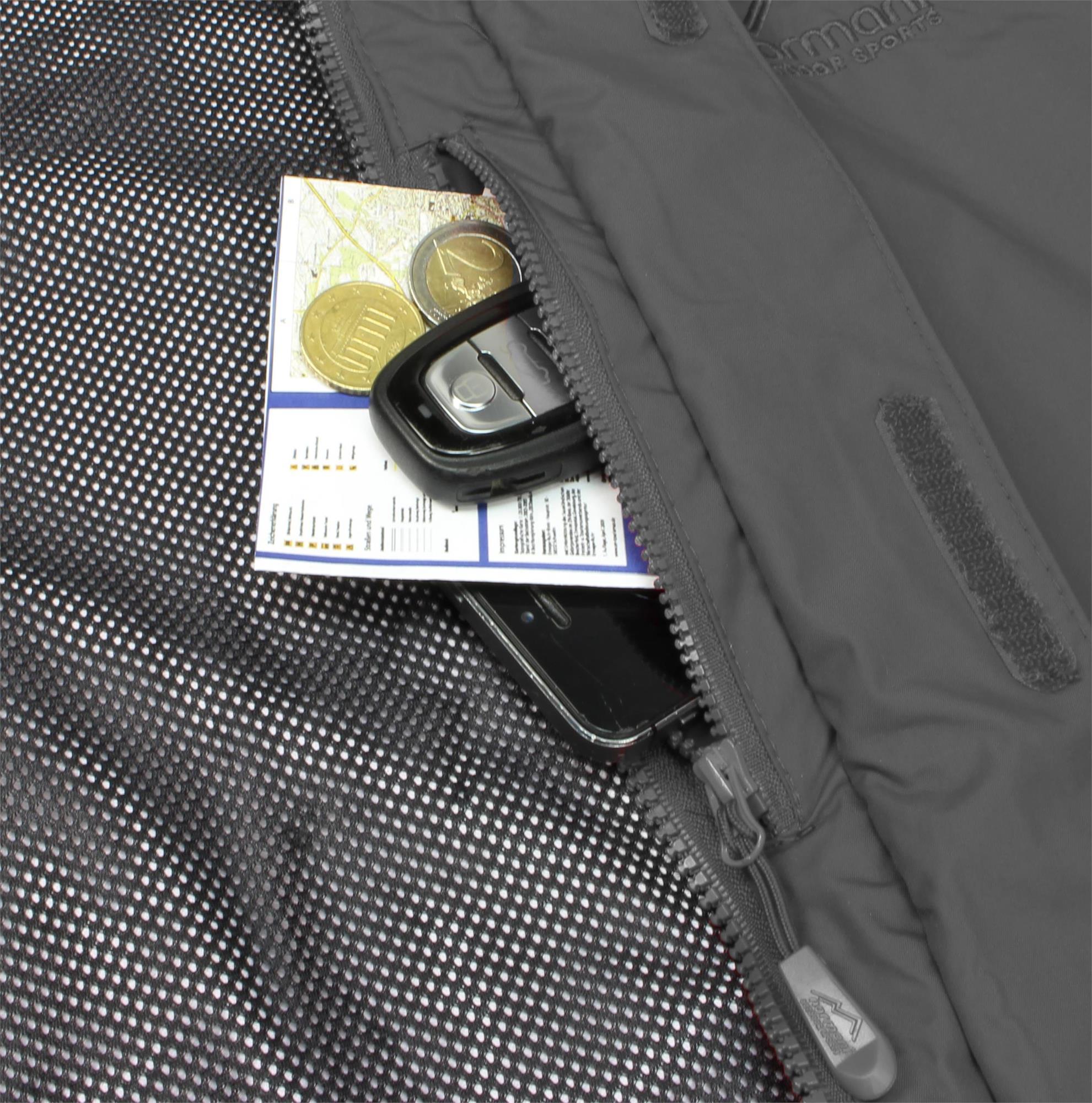 Indexbild 15 - Damen-Jacke Hardshelljacke Übergangs-Regenjacke mit Kapuze Wassersäule 10.000mm