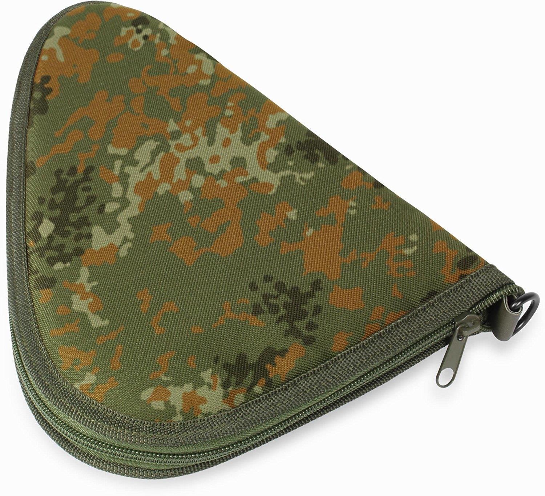 Pistolentasche Waffentasche Revolvertasche Gepolstert Abschließvorrichtung 38 cm