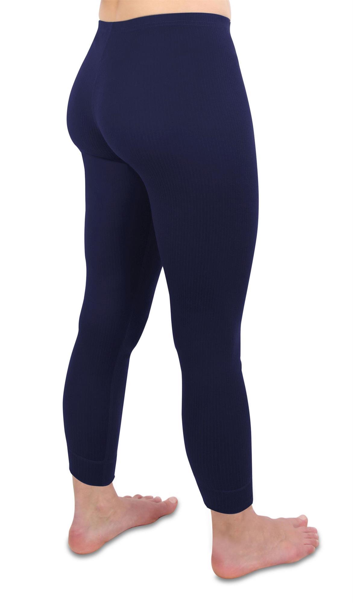 Damen Thermounterwäsche Unterhose Leggins Skiunterhose Winterhose Frauen Hose
