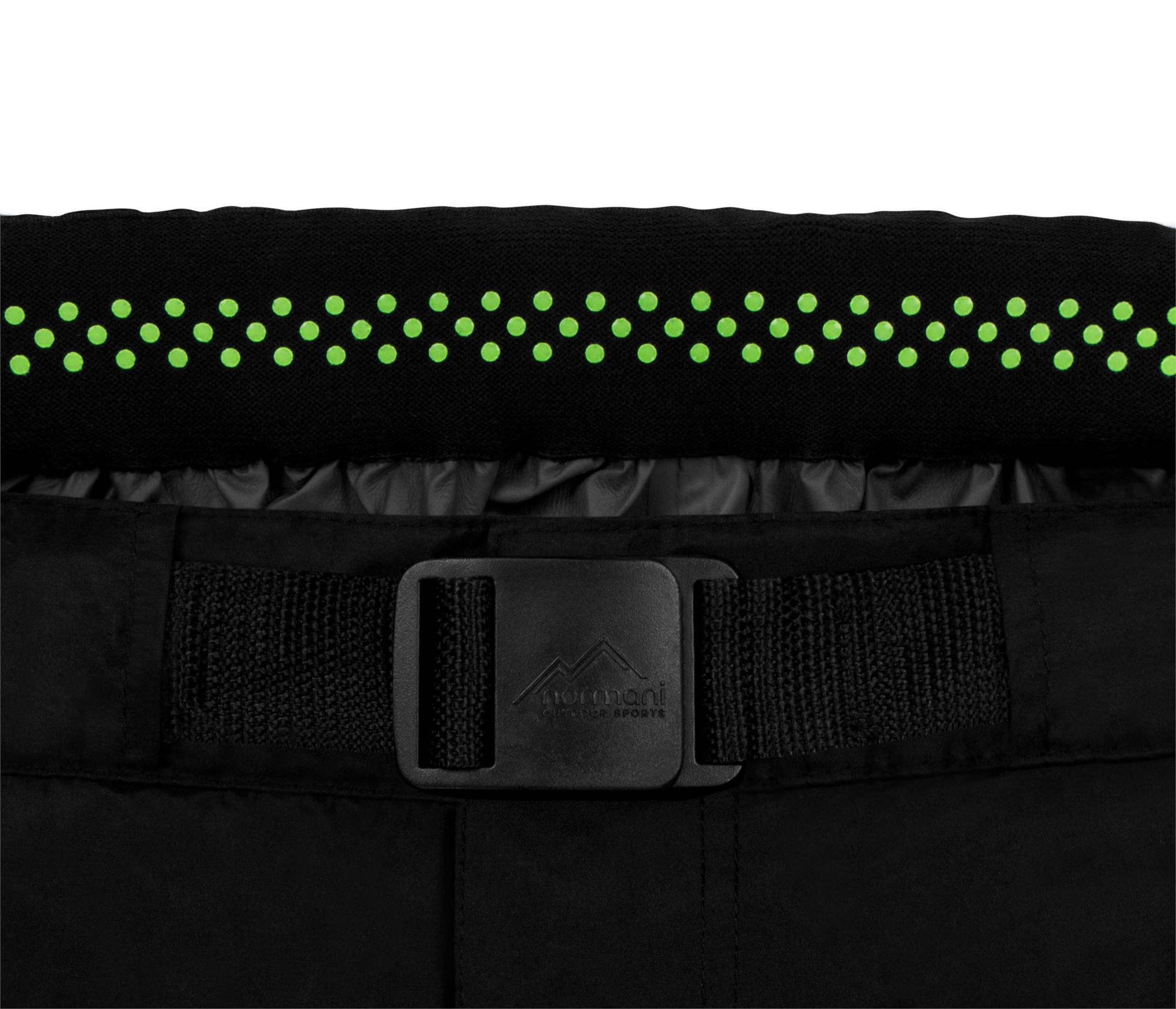 Wasserdichte Regenhose Fahrradhose mit Zip-Off-Funktion und 3M Reflektoren